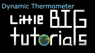 Little Big Planet 3 Tutorials| Dynamic Thermometer