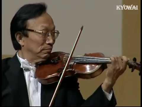 """小提琴曲《良宵》 刘育熙教授小提琴独奏音乐会2004 - """"A Beautiful Night"""" by Violinist LIU Yuxi"""