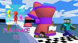 Monster School: FUN RACE 3D Challenge - Minecraft Animation