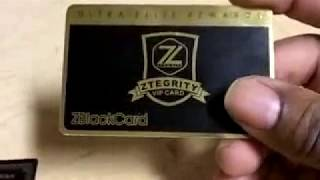 "The ZBlackCard Vs The American Express Black Card ""2018"""