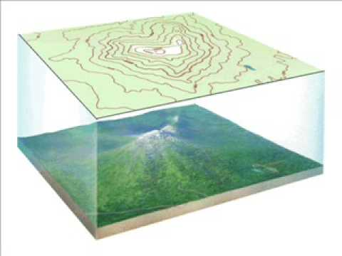 How To Make A 3d Topographic Map.Topographic Maps Video Wmv Youtube