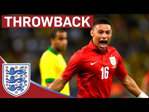 Great Goals from Rooney and Ox in Brazil | From The Archive