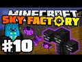 Minecraft: WITHER BORBA!!!!!! [#10] SKY FACTORY 2