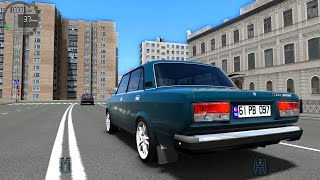 City Car Driving 1.5.0 ВАЗ LADA 2107 TD04L TrackIR 4 Pro [1080P]