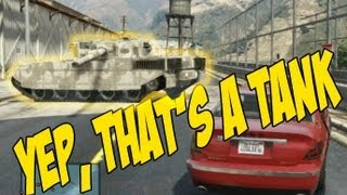 Breaking into the Military Base (GTA 5)