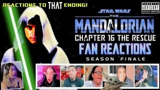 Fans React to The Mandalorian Chapter 16 The Rescue SEASON FINALE