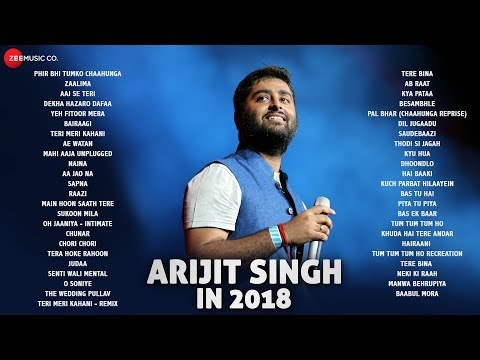 Arijit Singh In 2018 Audio Jukebox  47 Songs