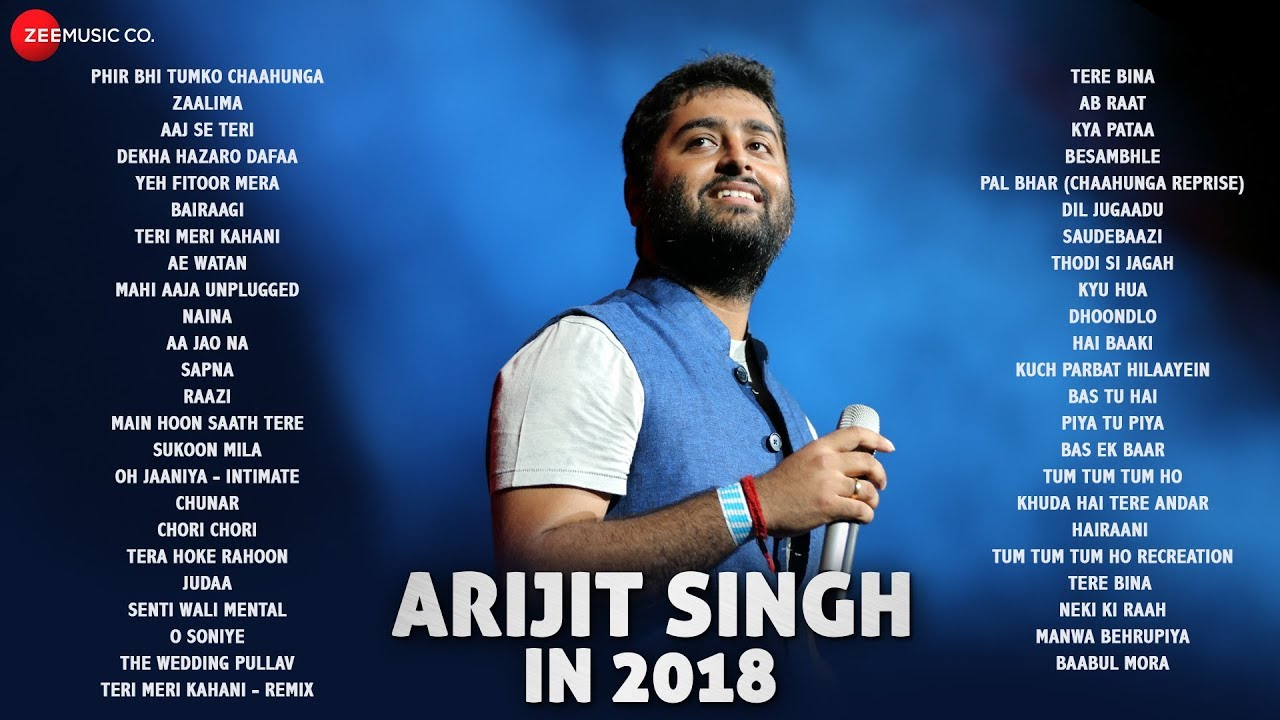 Arijit Singh in 2018 - Audio Jukebox | 47 songs