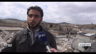 قتلى وجرحى باستهداف قوات النظام قرية كفرعويد بريف إدلب