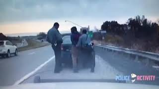 American police try to arrest a very dangerous criminal