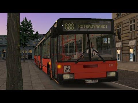 OMSI 2 - Mercedes-Benz O405GN  - Hamburg Line 688