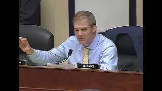 Rep. Jim Jordan Questions Peter Strzok