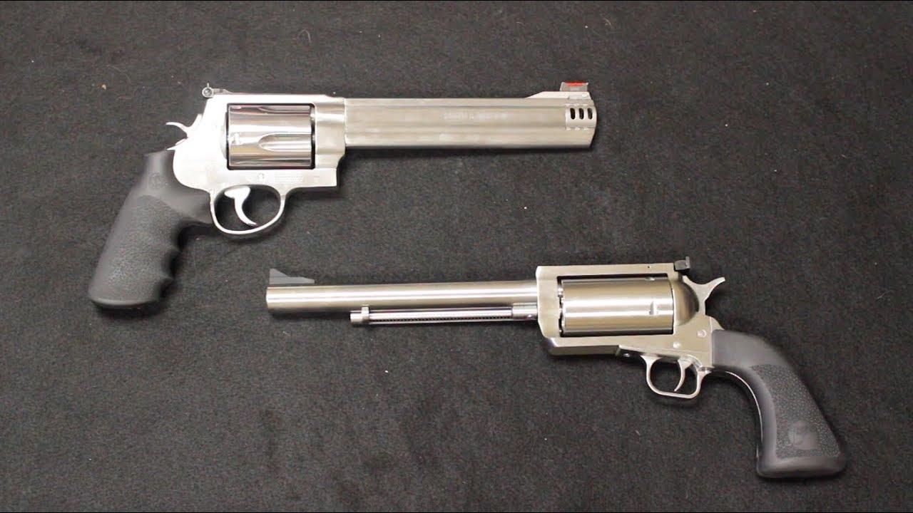 Magnum Research BFR vs S&W 500 Magnum