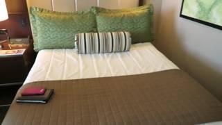 Las Vegas Hotel Room Tour: Aria Standard Deluxe Room 2 Queen Beds (with good view)