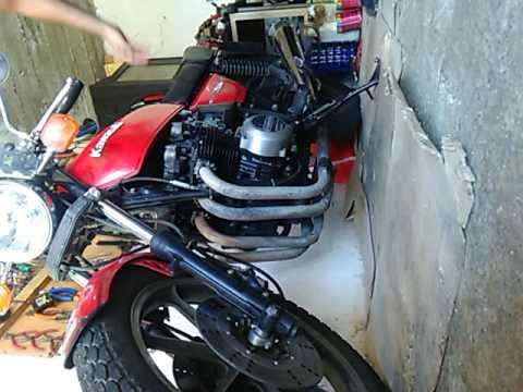 kawasaki z 500 b 1980 engine knocking ticking youtube. Black Bedroom Furniture Sets. Home Design Ideas
