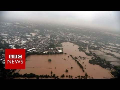 Devastating floods across South Asia killing over 1200 people - BBC News