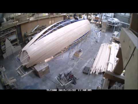 Spirit Yachts 47' cruising yacht in build