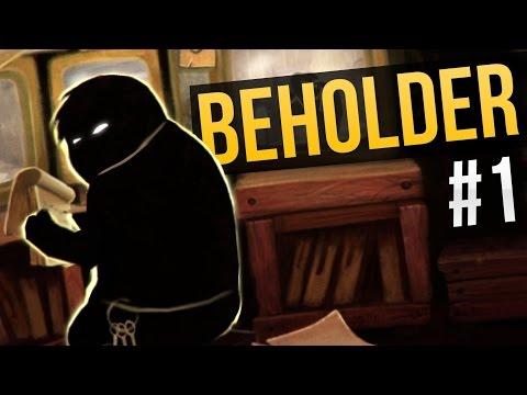 Beholder Ep. 1 - SPYING ON MY NEIGHBORS ★ Beholder Gameplay / Let's Play Beholder