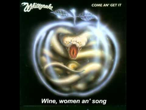 121274039 Whitesnake Wine, Women An' Song HQ Audio with lyrics - YouTube