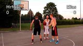 V1F Germany 1 on 1 Basketball - MrMike vs Elias Game #12 - The REMATCH
