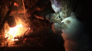 Таёжные истории. Октябрь. Ночь у костра / The northernforest stories. A night by the bonfire
