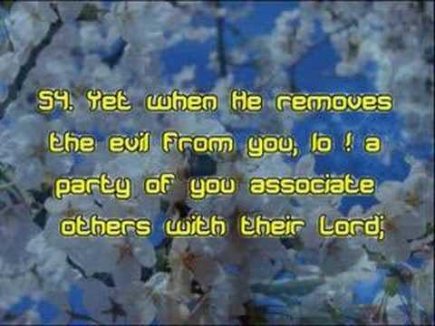 Surah 16: An-Nahl (The Bee): Verses 36-69
