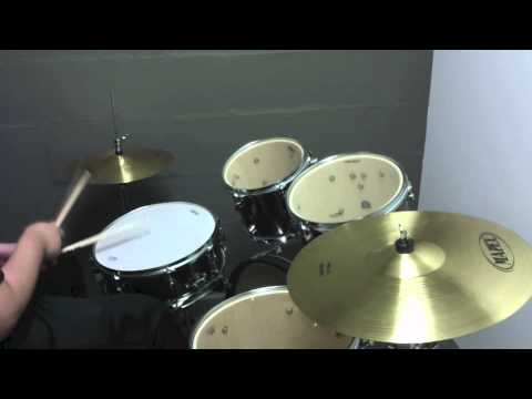 Mapex Voyager Drum Kit Test Youtube