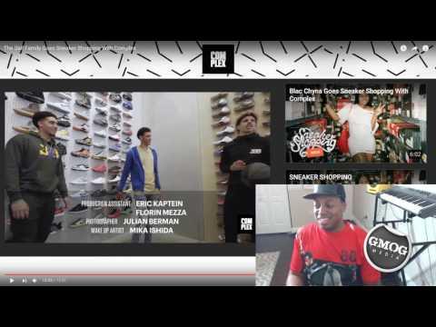 The Ball Family Sneaker Shopping with Complex | GMOGMediaTV Reaction