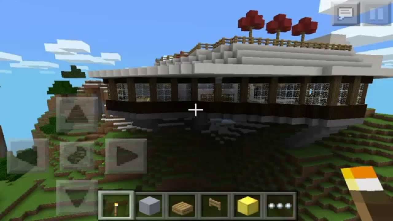 Minecraft pe epica casa en la monta a descarga youtube for Casa en la montana