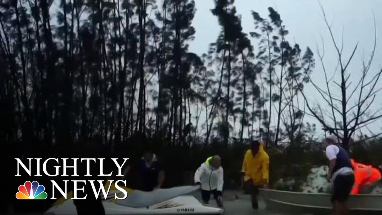Thousands Stranded In Bahamas After Days Of Hurricane Dorian's Winds And Rain | NBC Nightly News