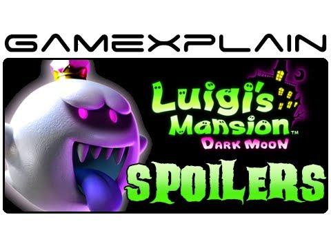 Luigi S Mansion 2 Dark Moon Final King Boo Boss Battle Ending Spoilers Japanese Ver