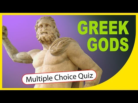 Q★ | Greek Gods & Goddesses | MULTIPLE CHOICE QUIZ WITH ANSWERS | Q-Star Quiz Channel