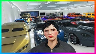 My 2020 UPDATED Garage Tour In GTA 5 Online - Over 300+ Supercars, Weaponized Vehicles & MORE!