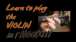 learn to play the violin in 1 one hour yes in one whole hour