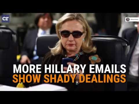 More Hillary Emails Show Clinton Foundation Shadiness