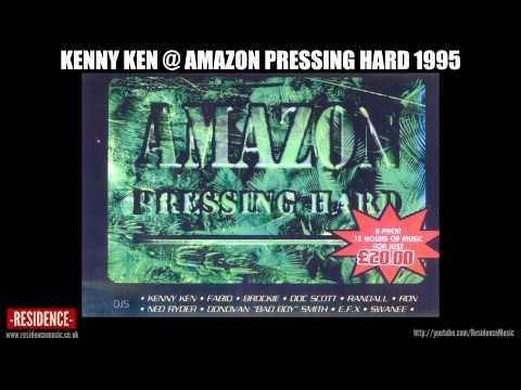 Kenny Ken @ Amazon Pressing Hard 1995 | RESIDENCE
