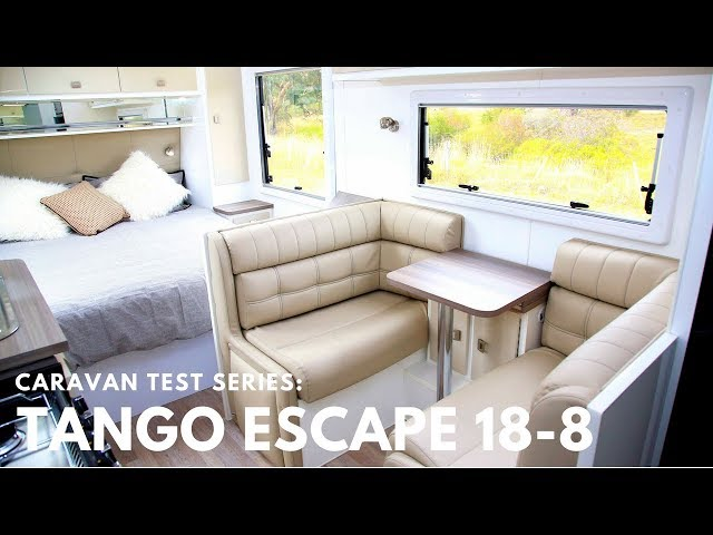 Amazing interior: Tango Escape 18-8