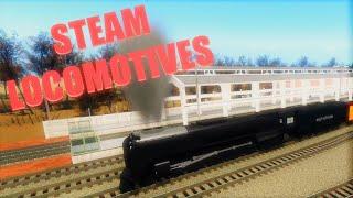 Steam Locomotives | Rails Unlimited | Roblox