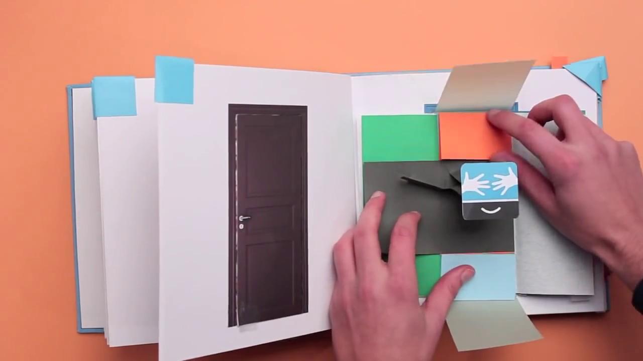 Autostima book design youtube for Design book