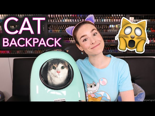 Putting my Cat in a Backpack and Going Outside