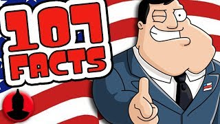 107 American Dad Facts You Should Know!  (107 Facts S6 E24) | Channel Frederator