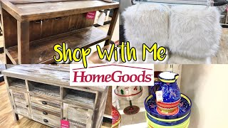 HomeGoods SHOP WITH ME Furniture DECOR & More!