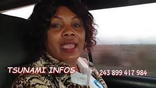 Route Kinshasa tshikapa  13h Du temps Par voit  MERCI FASTHI béton  100 jours à tshikapa nde Makambu