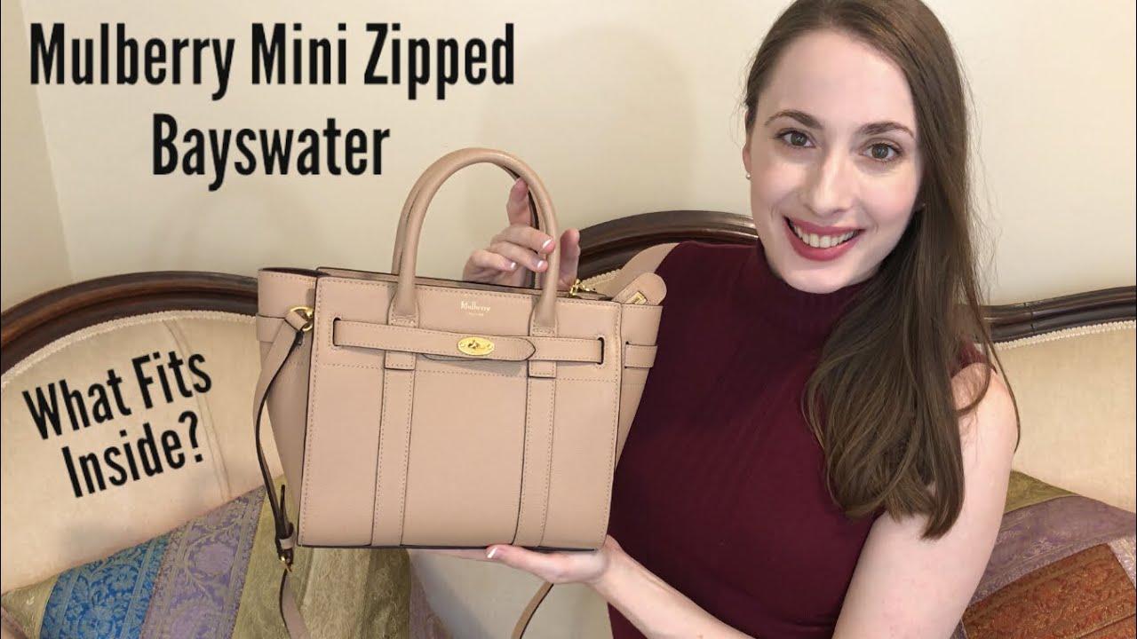 6c868910cc62 Mulberry Mini Zipped Bayswater