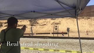{WolfPack DeltaAirsoft} Real steal shooting!!