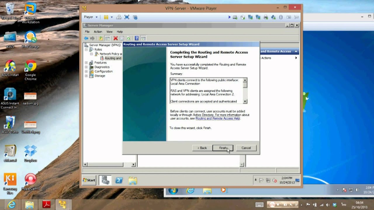 PPTP VPN Server with Active Directory - YouTube