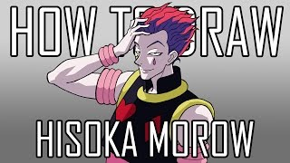 Draw Hisoka - Quick Simple Easy How To Steps For Beginners 21