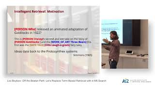 Leo Boytsov: Off the Beaten Path: Let's Replace Term-Based Retrieval with k-NN Search