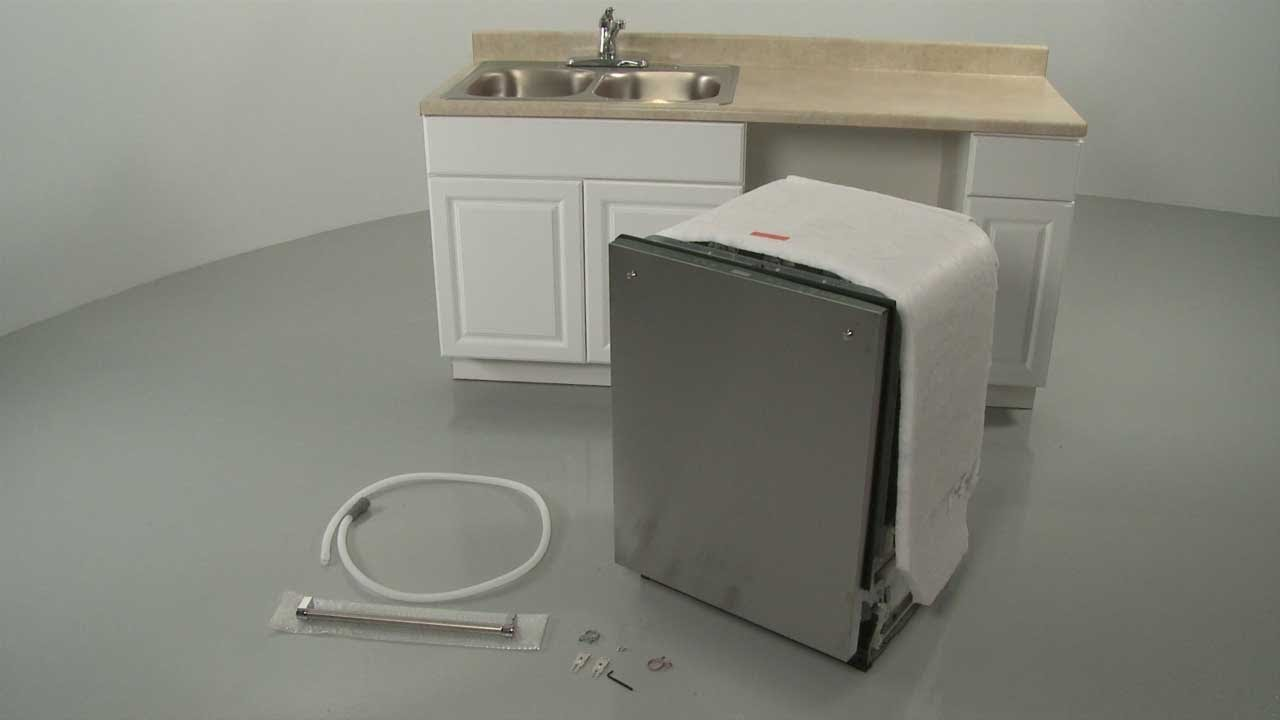 kitchenaid dishwasher installation model kdtm704ess  [ 1280 x 720 Pixel ]
