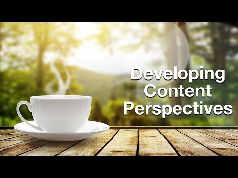 Developing Content Perspectives for Travel Brands